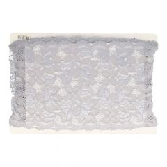Floral nylon stretch lace 157mm - 12.5m