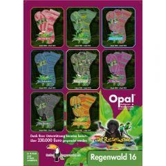Opal Regenwald 16 assortment 4x150g - 8 colours - 1pc