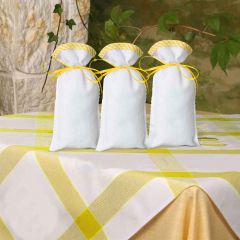 Simy's Studio Embroidery kit scented bag yellow - 1x3pcs