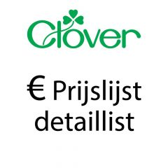 Retail Price List Clover- 1piece