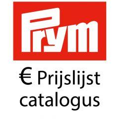 Prym Retail Price list per 01-01-2018 - Catalogue -1p