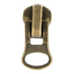Zipper puller metal zipper -suitable for nr. 8  -  10pcs