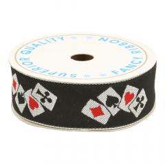 Poker ribbon - 9m