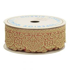 Decorative ribbon 34mm  -  9m
