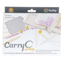 Tulip CarryC Long interchangeable needle set bamboo - 1pc