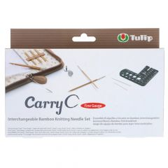 Tulip CarryC Fine Gauge interchang. needle set bamboo - 1pc