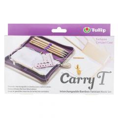 Tulip CarryT Tunisian crochet hook set bamboo - 1pc