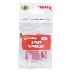 Tulip Thimbles pink - 3x2pcs
