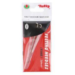 Tulip Felting needles fine - 3pcs