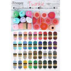 Scheepjes Twinkle poster A2 size - 1 pcs