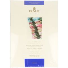 DMC Colour sample card 115-116-117-315-317-417 - 1pc