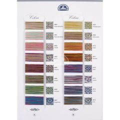 DMC Colour sample card Coloris 517 - 1 st