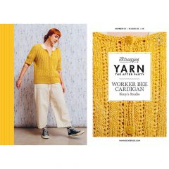 YARN The After Party no.121 Worker Bee Cardigan - 20pcs