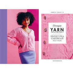 YARN The After Party no.124 Sweet Pea Cardigan - 20pcs