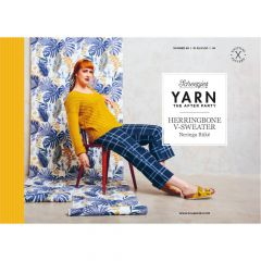 YARN The After Party no.98 Herringbone V-Sweater - 20pcs
