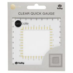 Tulip Quick gauge clear - 5pcs