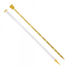 Addi Champagne knitting needle 35cm 6.00-15.00mm - 5pcs