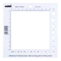 Addi Counting frame white - 1pc