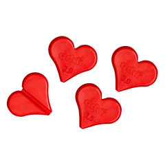Addi Stitch holders heart 1.50-2.00-3.00mm - 1pc