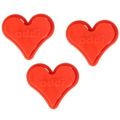 Addi ToGo stitch holders heart - 10pcs