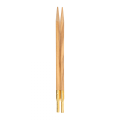 Addi Click olive wood interchang. needle tips - 1pc