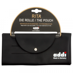 Addi Rita knitting needle case for 10 sets 2.00-8.00mm - 1pc
