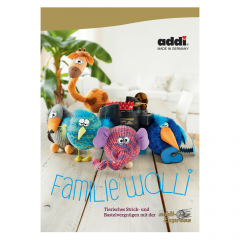 Addi Book woolly family for Addi Express German - 1pc