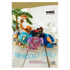 Addi Book woolly family for Addi Express English - 1pc