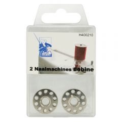 MMJZ Sewing machine bobbins metal - 5x2pcs