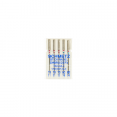 Schmetz Embroidery 5 needles 75-90 - 30pcs