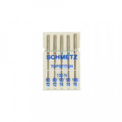 Schmetz Topstitch 5 needles 80-100 - 30pcs