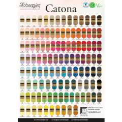 Scheepjes Catona Poster - A2 size - 1pc