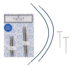 ChiaoGoo Twist lace short combo pack 5+8cm 1.5-3.25mm - 3pcs