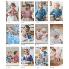 DMC Leaflet set baby cotton - 1x12pcs