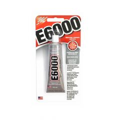 E6000 Industrial strength adhesive clear 29.5ml - 6x39g
