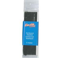 Elasta Elastic cord thin round 1,5mm - 5m - 10pcs