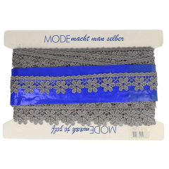 Floral lace trim 30mm - 13.7m