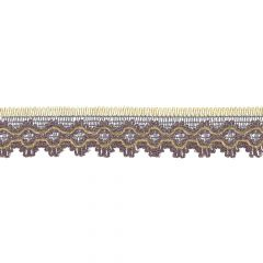 French metallic lace trim 25mm - 9m