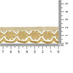 Gold gimp trim 21mm - 16.4m