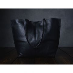 Furls Project handbag leather black - 1pc