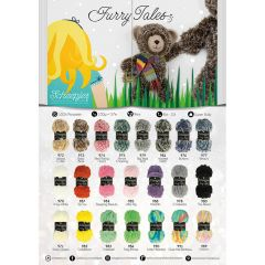 Scheepjes Furry Tales shop poster A2-size - 1pc