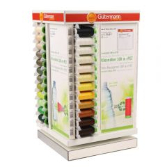Gütermann Display tower sew-all thread rPET 48x3x100m - 1pc