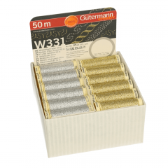 Gütermann Storage and Display Box Metallic 36 colours - 1pc