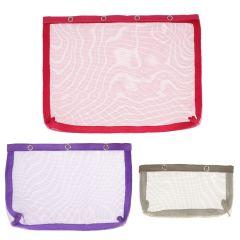 KnitPro Vibrance mesh pouches with press fastener - 3x1pc