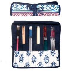 KnitPro Navy case for double-pointed needles - 1pc