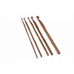 KnitPro Symfonie Wooden Crochet hook 3.00-12.00mm -3p