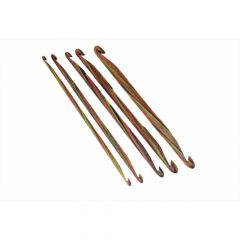 KnitPro Symfonie D. end. Crochet Hooks wood 3.00-10mm -3p