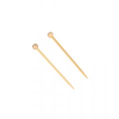 Seeknit Shirotake mini knitting needle bamboo 6.5cm - 3pcs