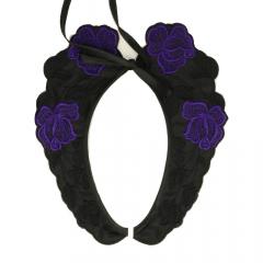 Collar 44 cm - purple
