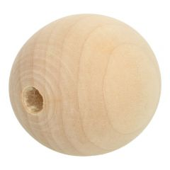 Wooden beads 6-60mm natural - 10-100pcs